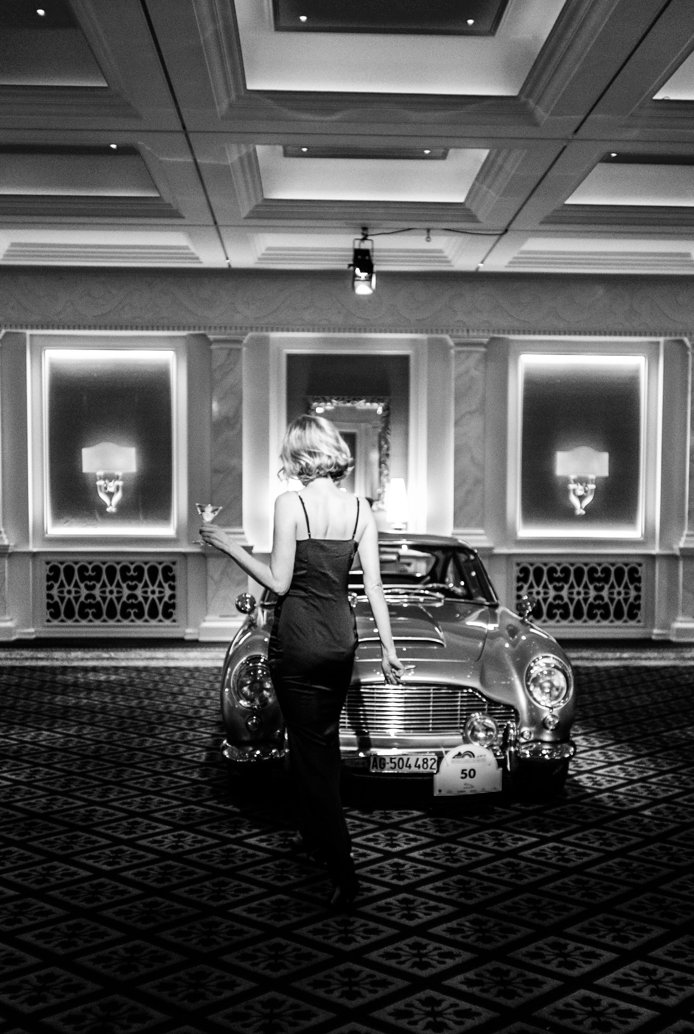 British Classic Car Meeting St. Moritz