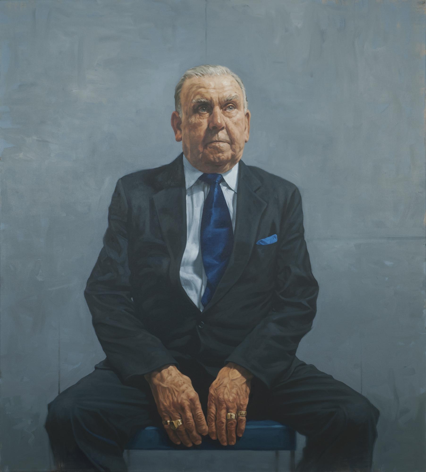 SPA 2017 Exhibition,Frank Curran (bantamweight)142 x 128 cm (framed)Oil £10,000