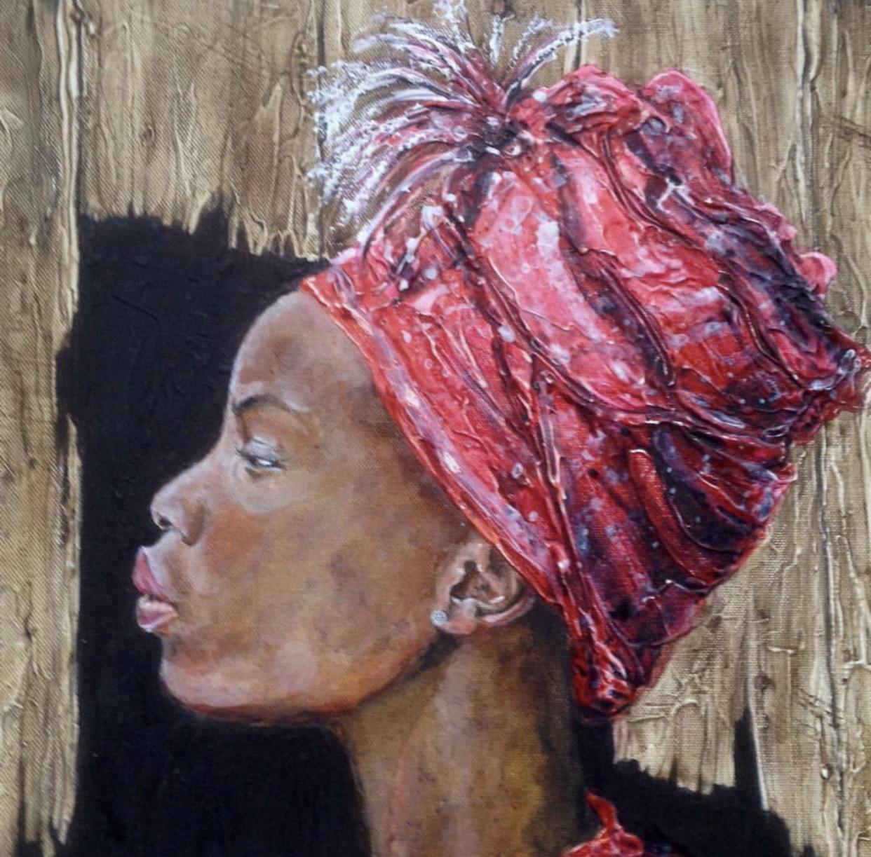 Pride  (Oil painting)   60cm x 60 cm