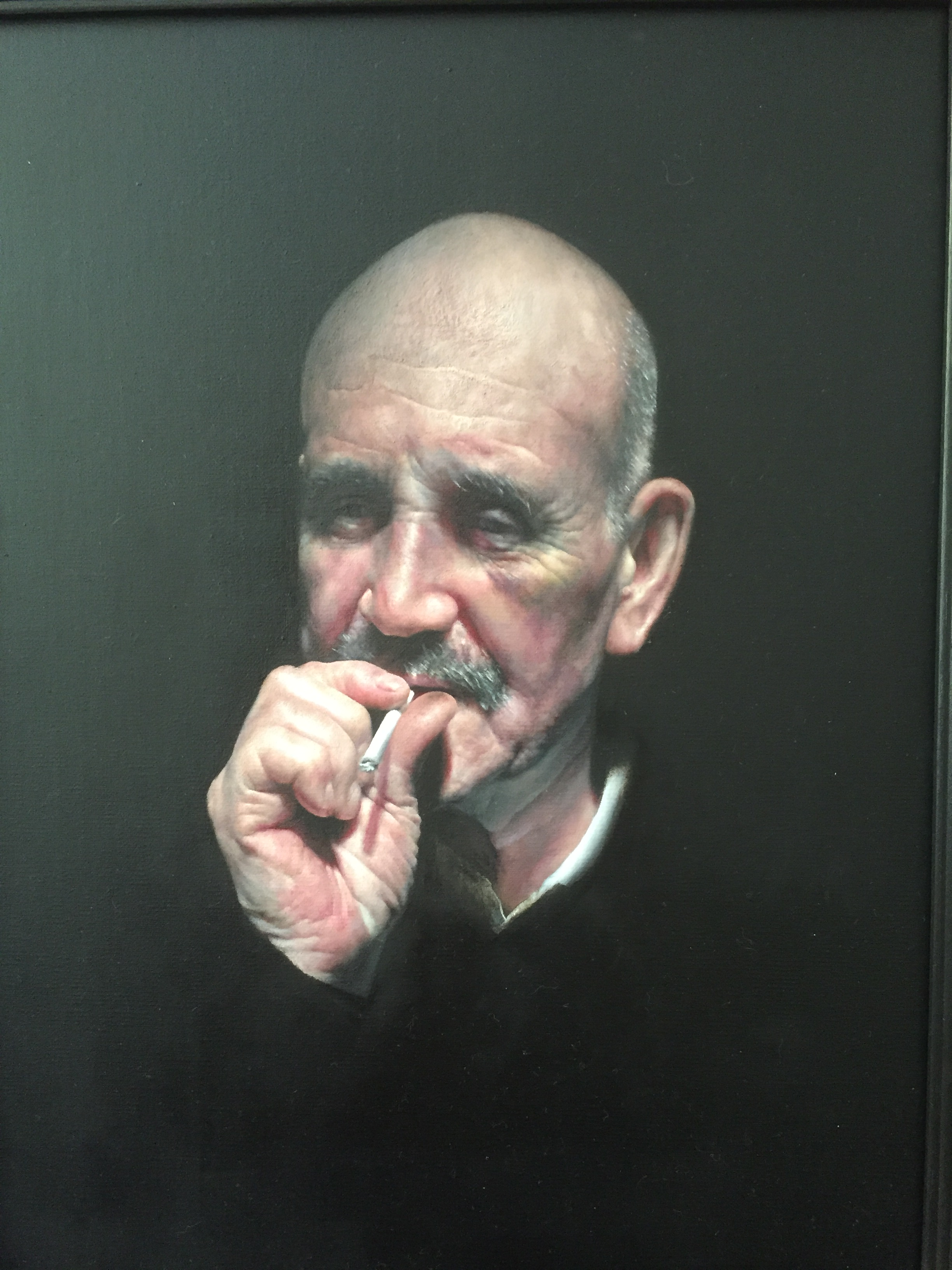 SPA 2017 Exhibition,James, 48 x 54 cm,Oil on canvas,£5,000