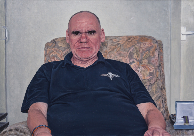 SPA 2017 Exhibition, Mr McCarron,91 x 61 cm Oil on canvas £4,000.