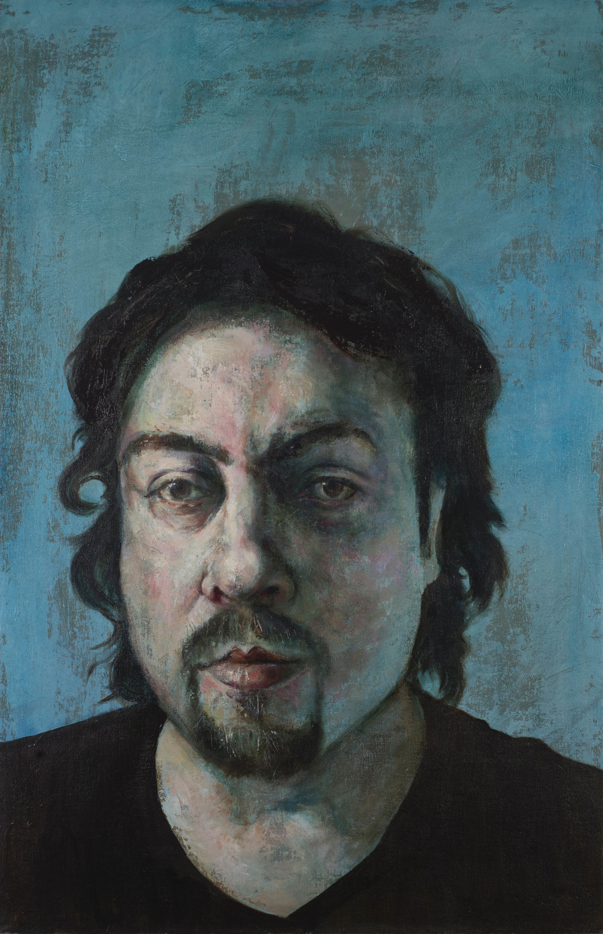 SPA 2017 Exhibition, Distant Relative,66 x 97 cm,Oil on canvas,£4,000