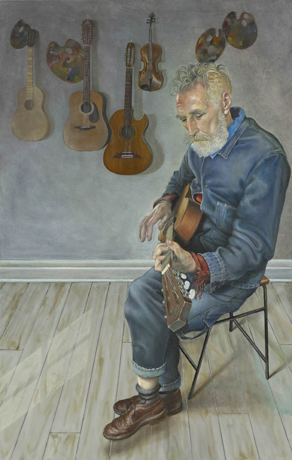 John Byrne and His Guitars