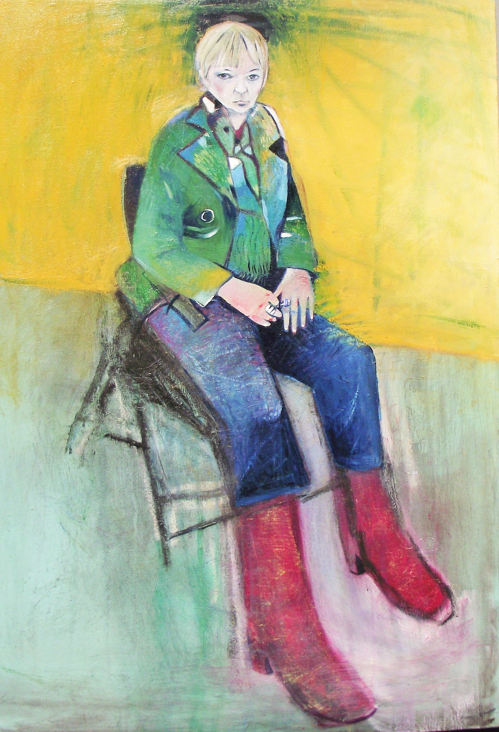 Maree Hughes, Green Jacket