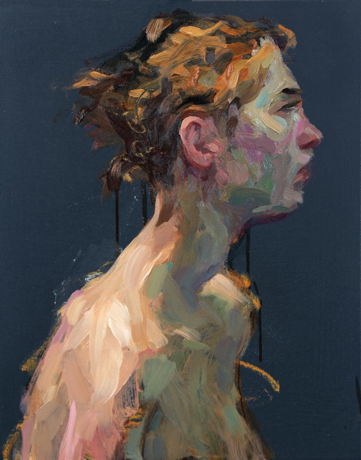 ALAN MCGOWAN, Lydia, Second Prize, SPA Fine Art 2018