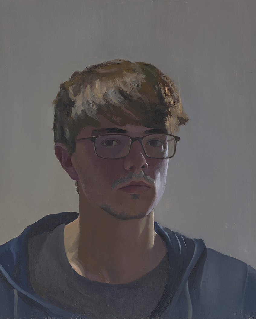 JONATHAN FARNINGHAM, Self-portrait in solitude