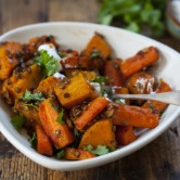 Beef & Whole Roasted Butternut Squash -