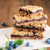 Blueberry and Quinoa Bars -