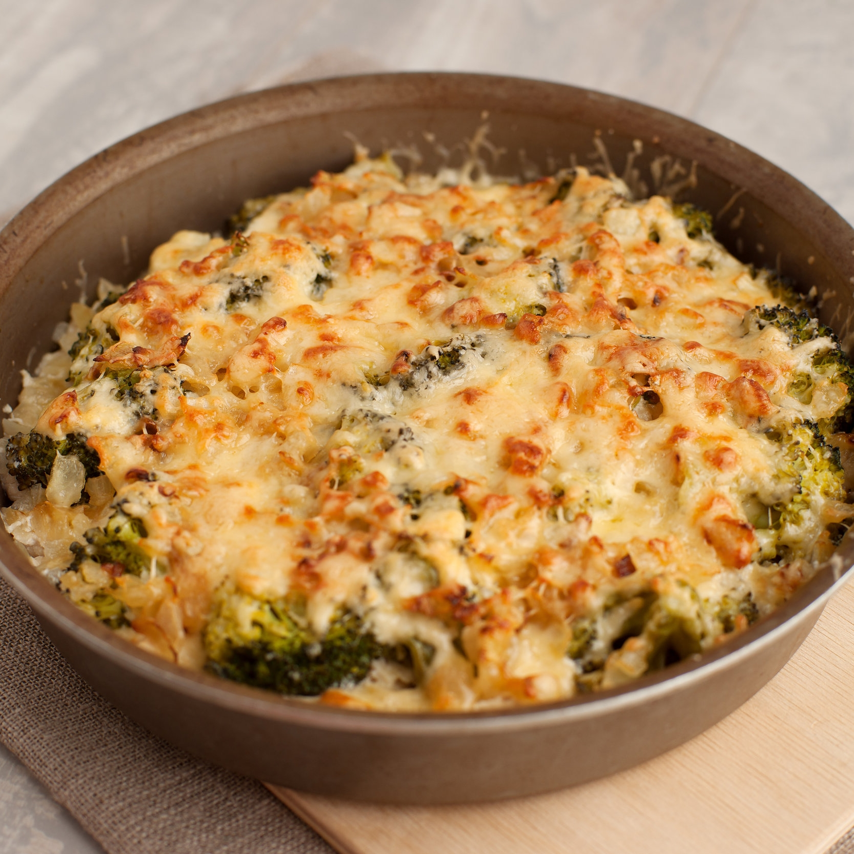 Chicken and Broccoli Bake -