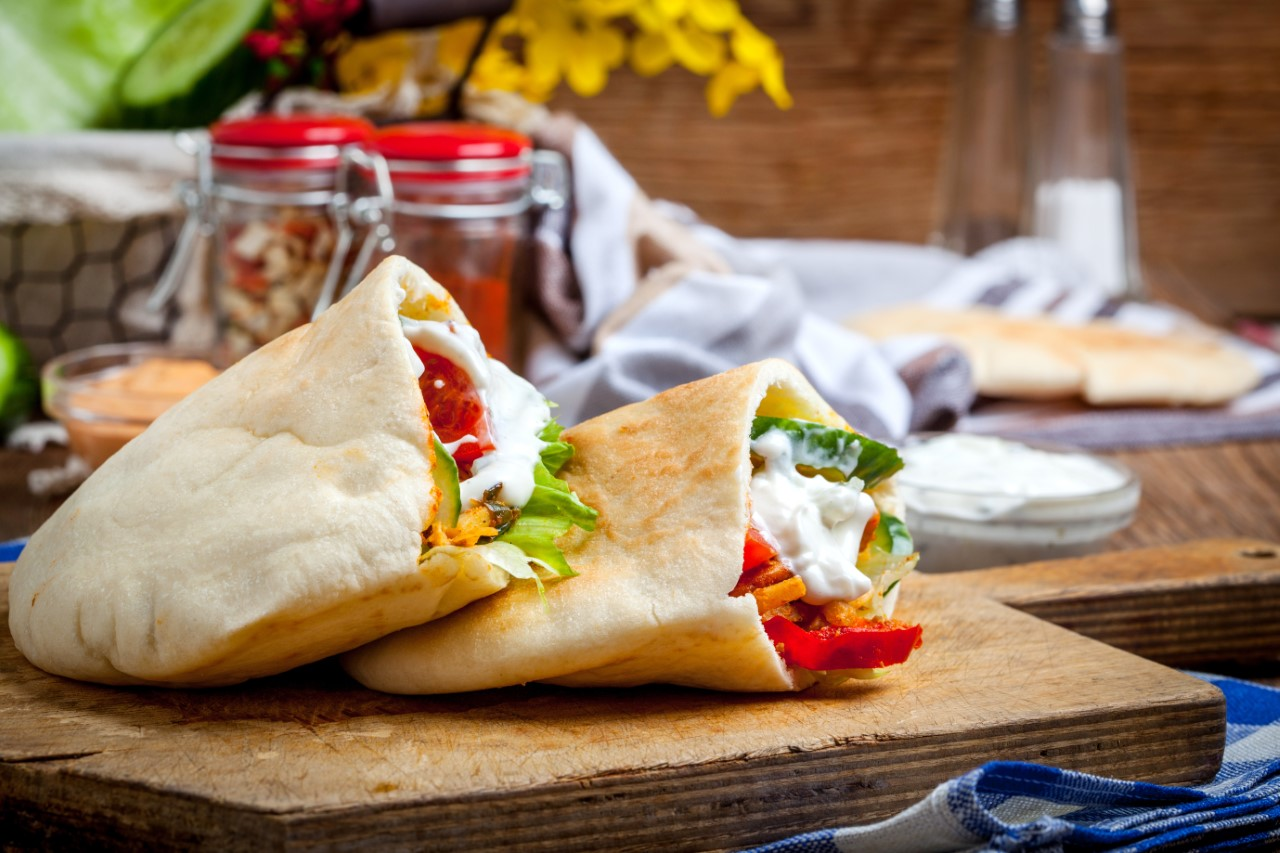 Mixed Bean and Chorizo Breakfast Pockets -