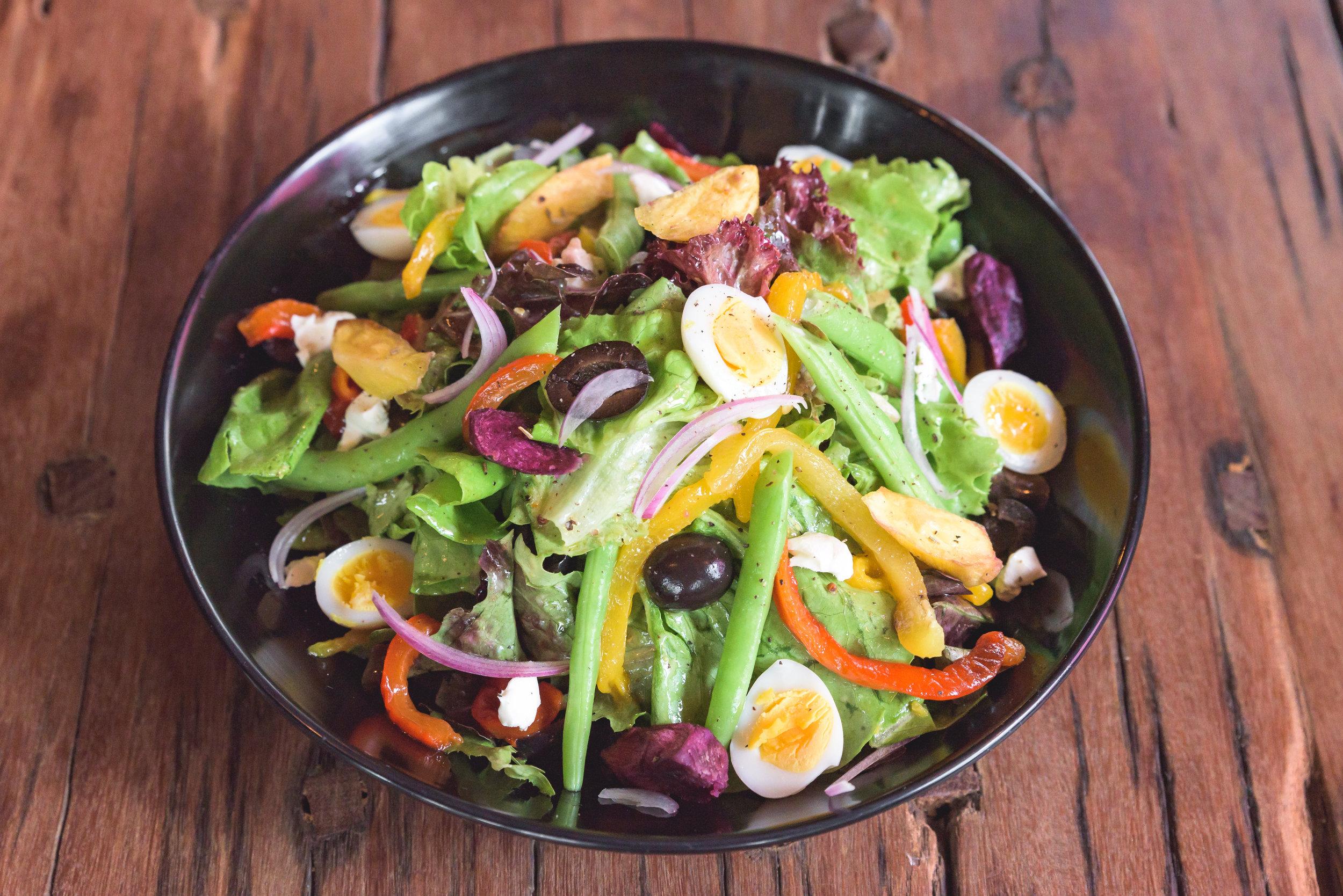 Nicoise Bean Salad -