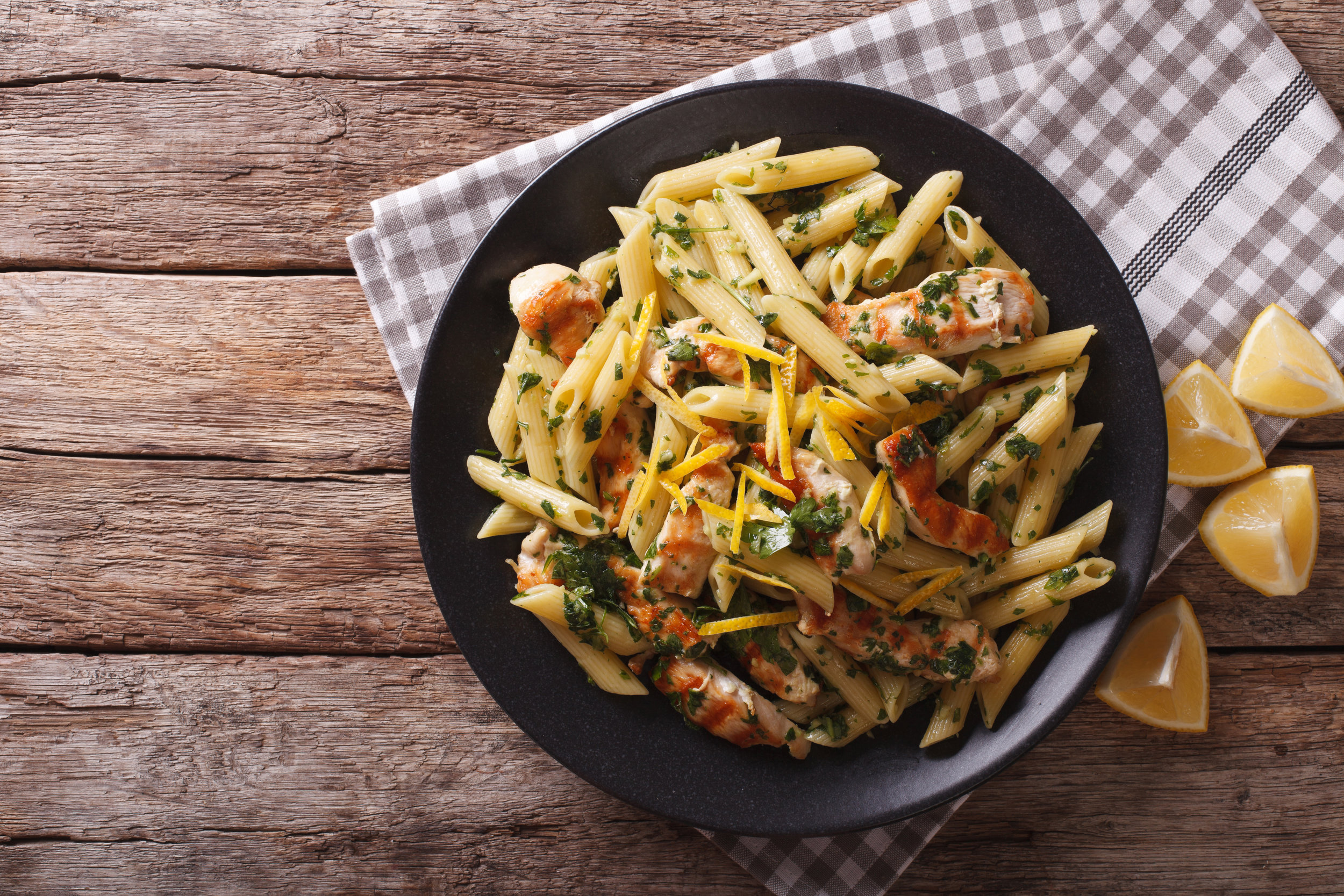 Pesto Chicken Pasta -