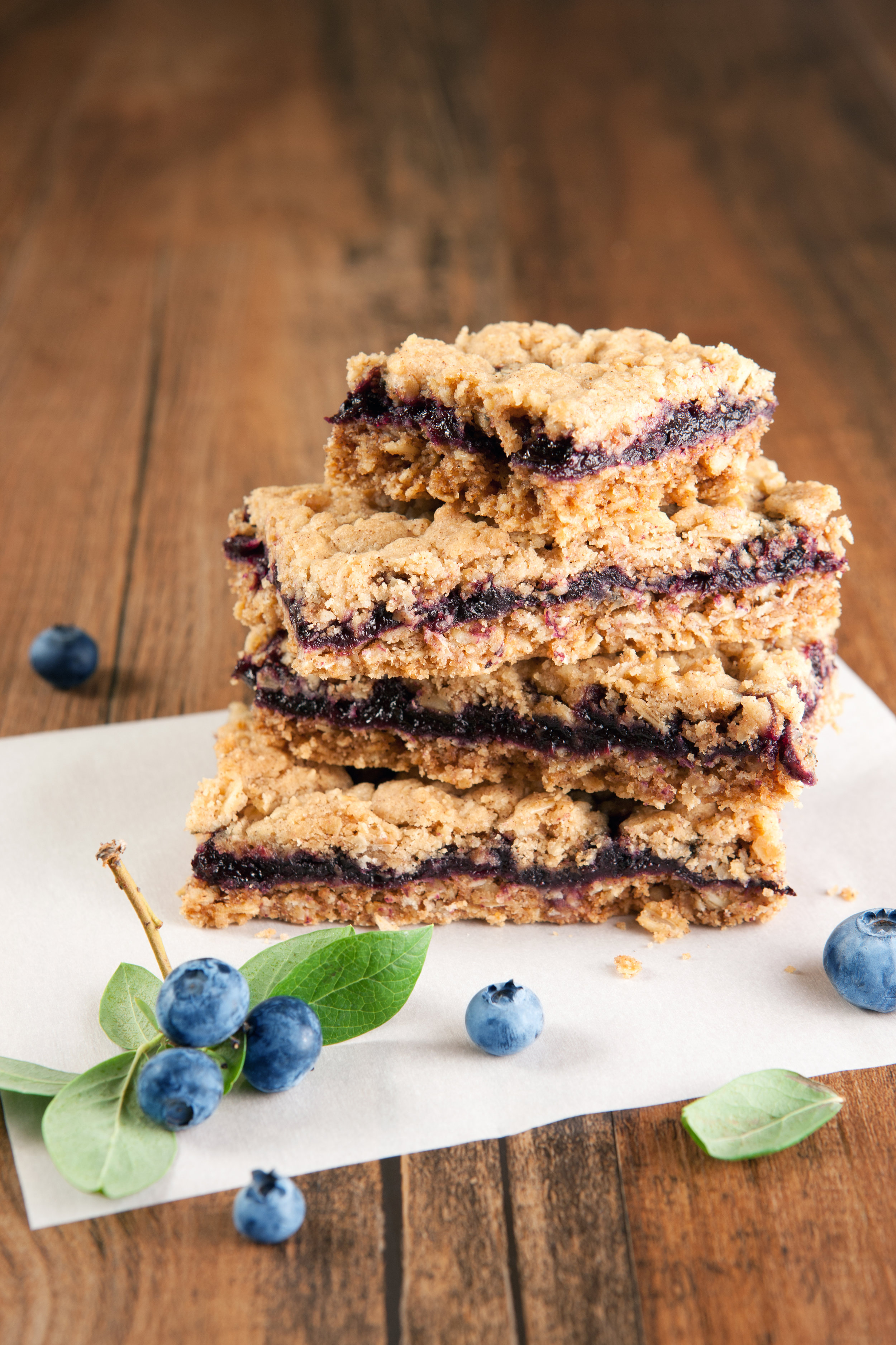 Blueberry & Quinoa Bars -