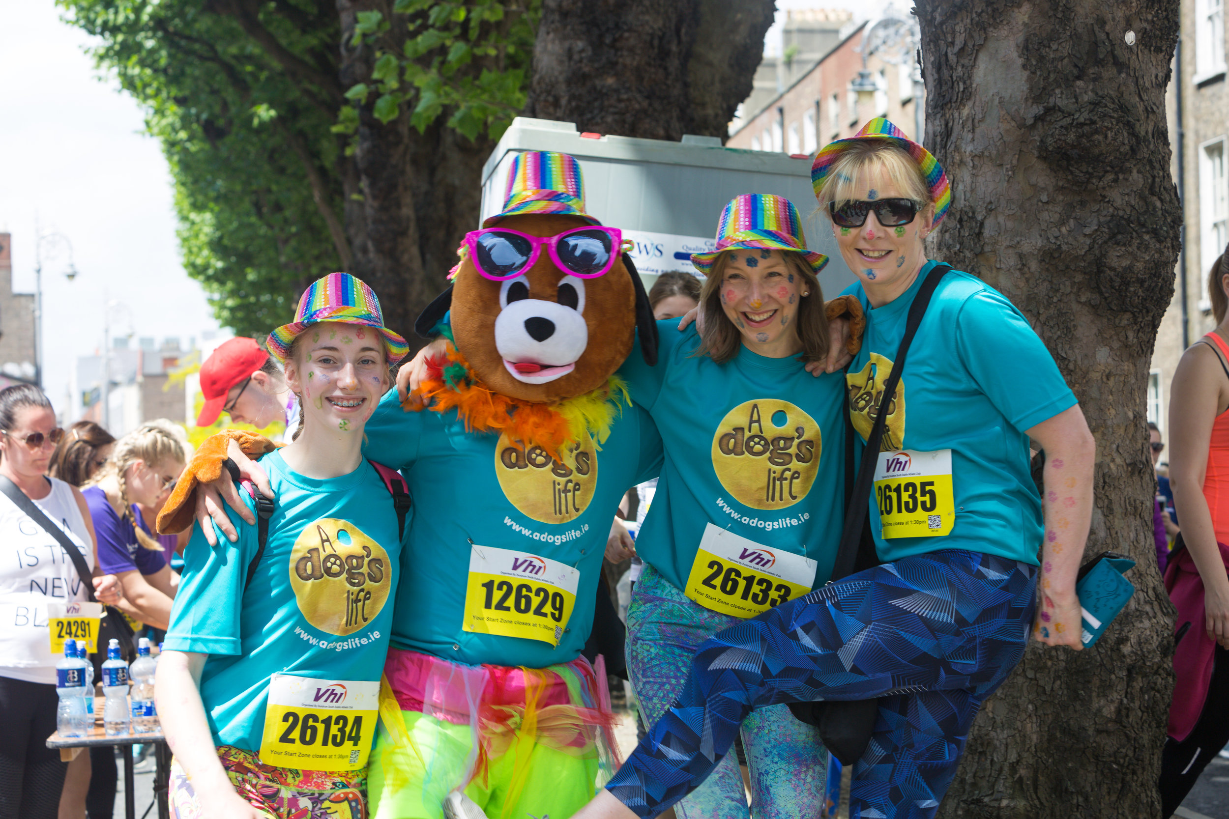 AH - Pre Race - Dog, a dogs life, mascot, funny, family, smiles.jpg