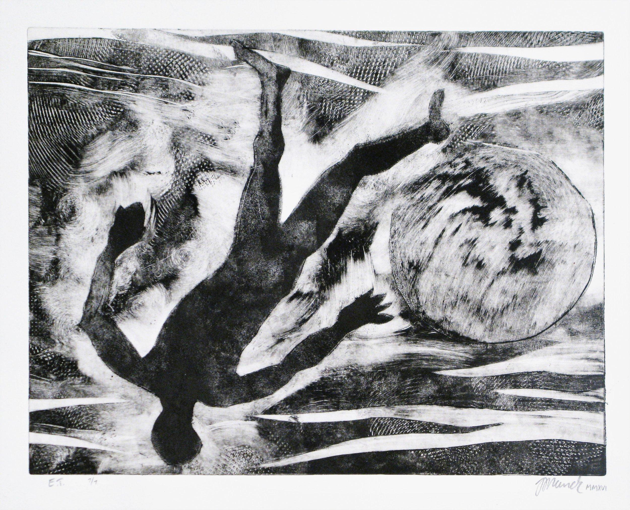 Figur (25 cm x 35 cm, sold)