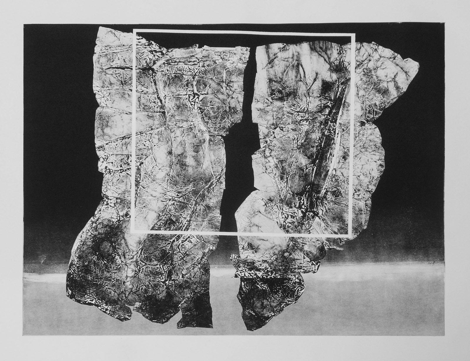 Forms on black 12 (53 cm x 43 cm)