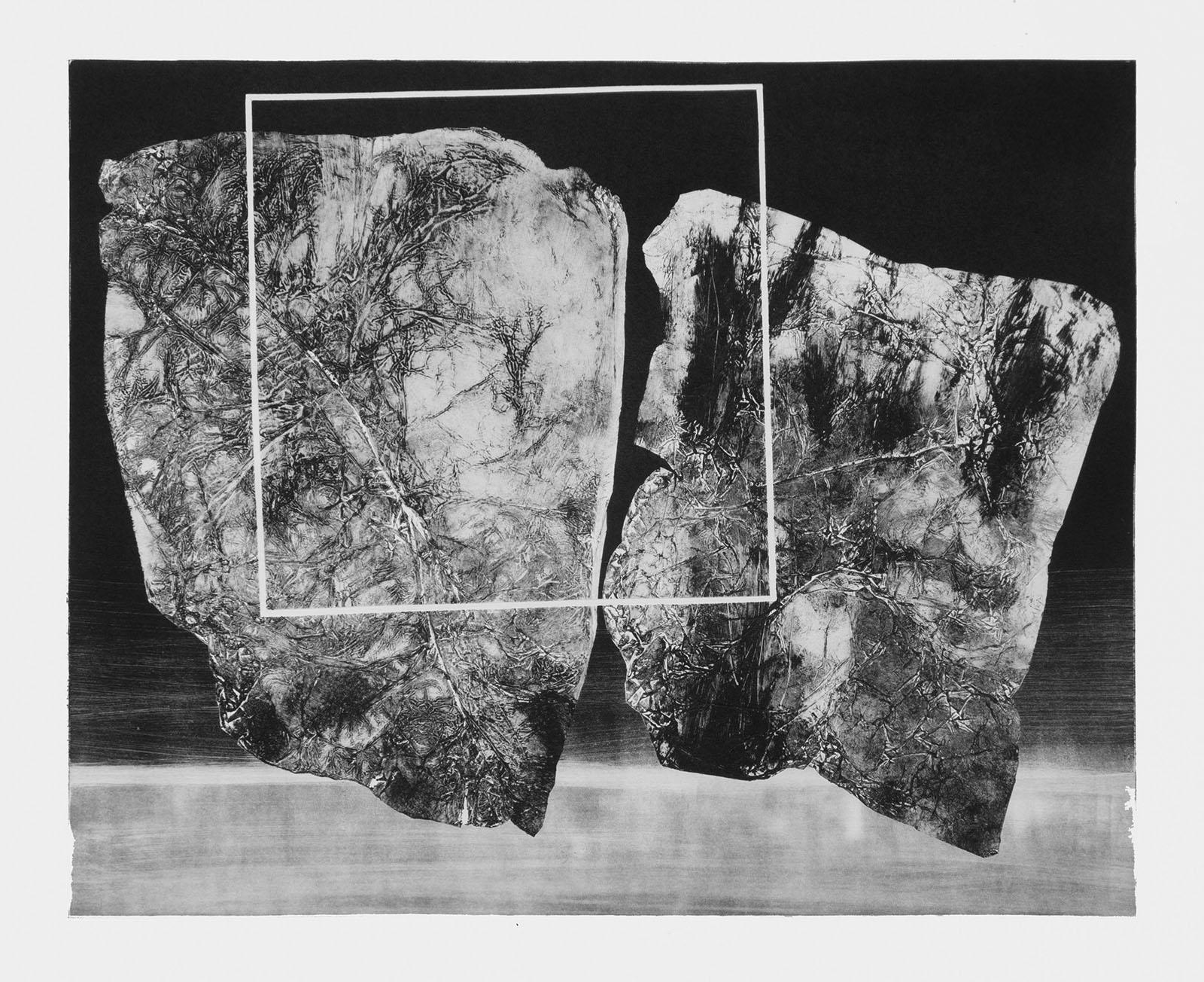 Forms on black 11 (53 cm x 43 cm)