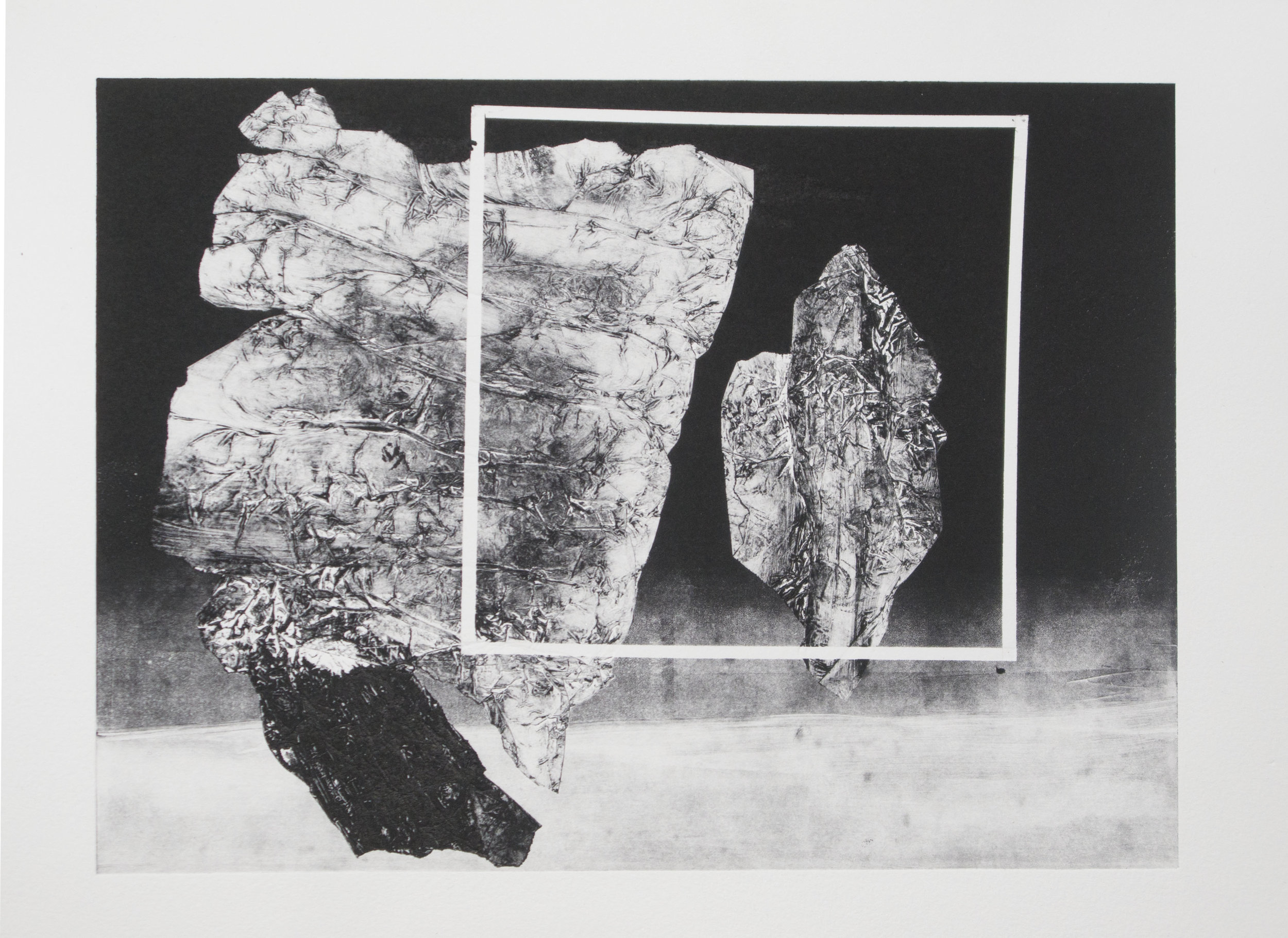 Forms on black 15 (32 cm x 26 cm)