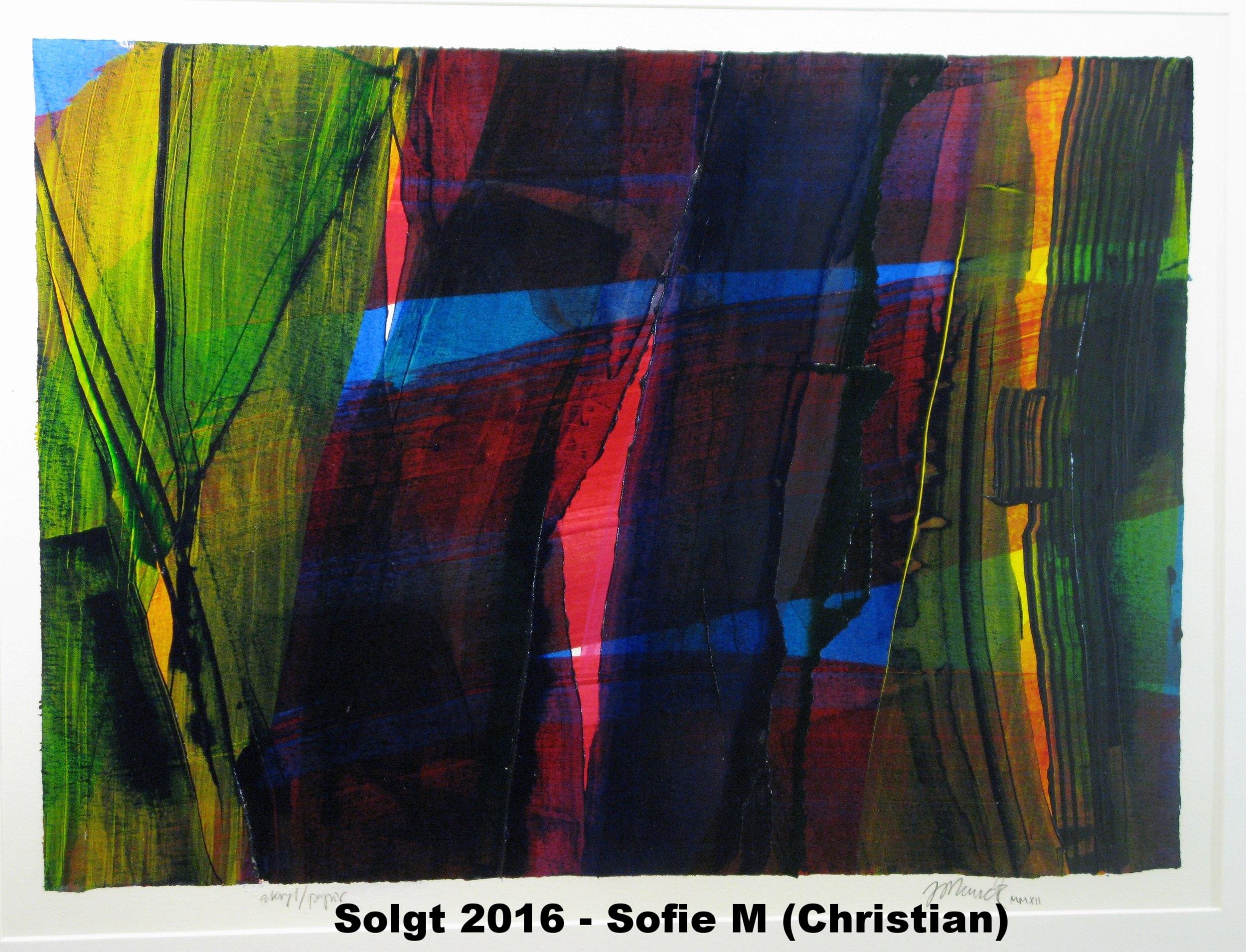 Solgt 2016 - Sofie Michelsen bryllupsgave (Christian)