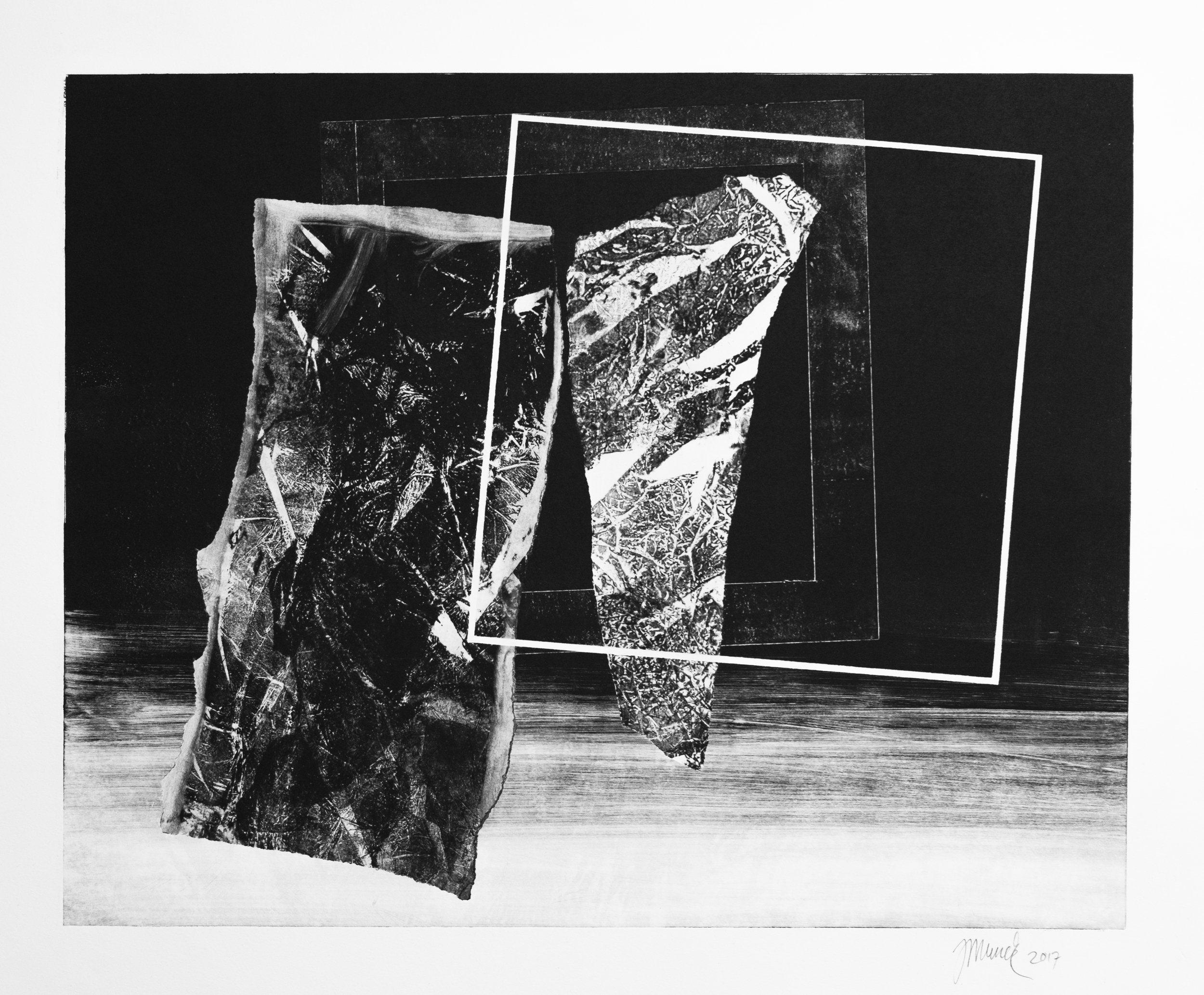 Forms on black 10 (53 cm x 43 cm)