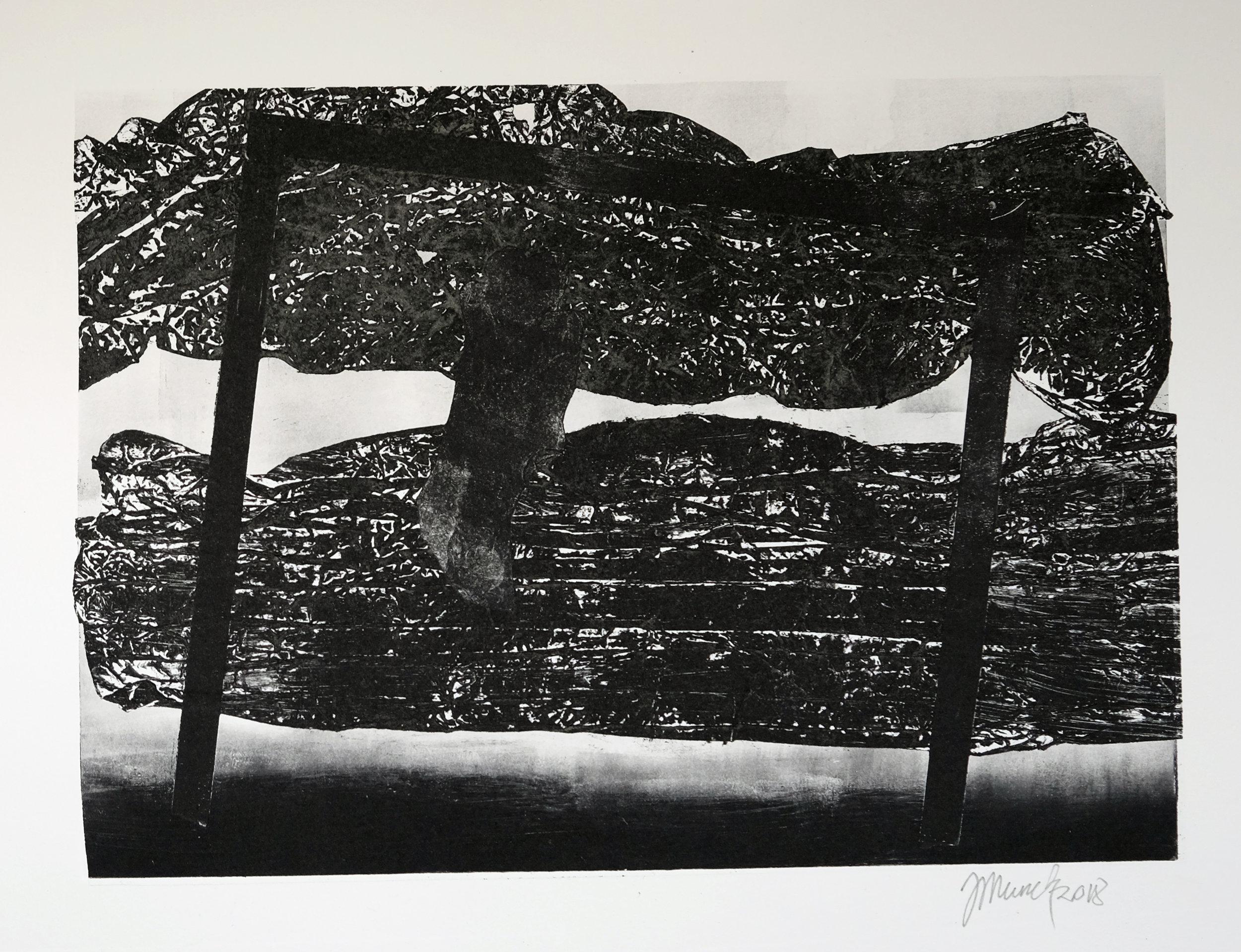 Dark landscape (II) (34 cm x 24 cm)