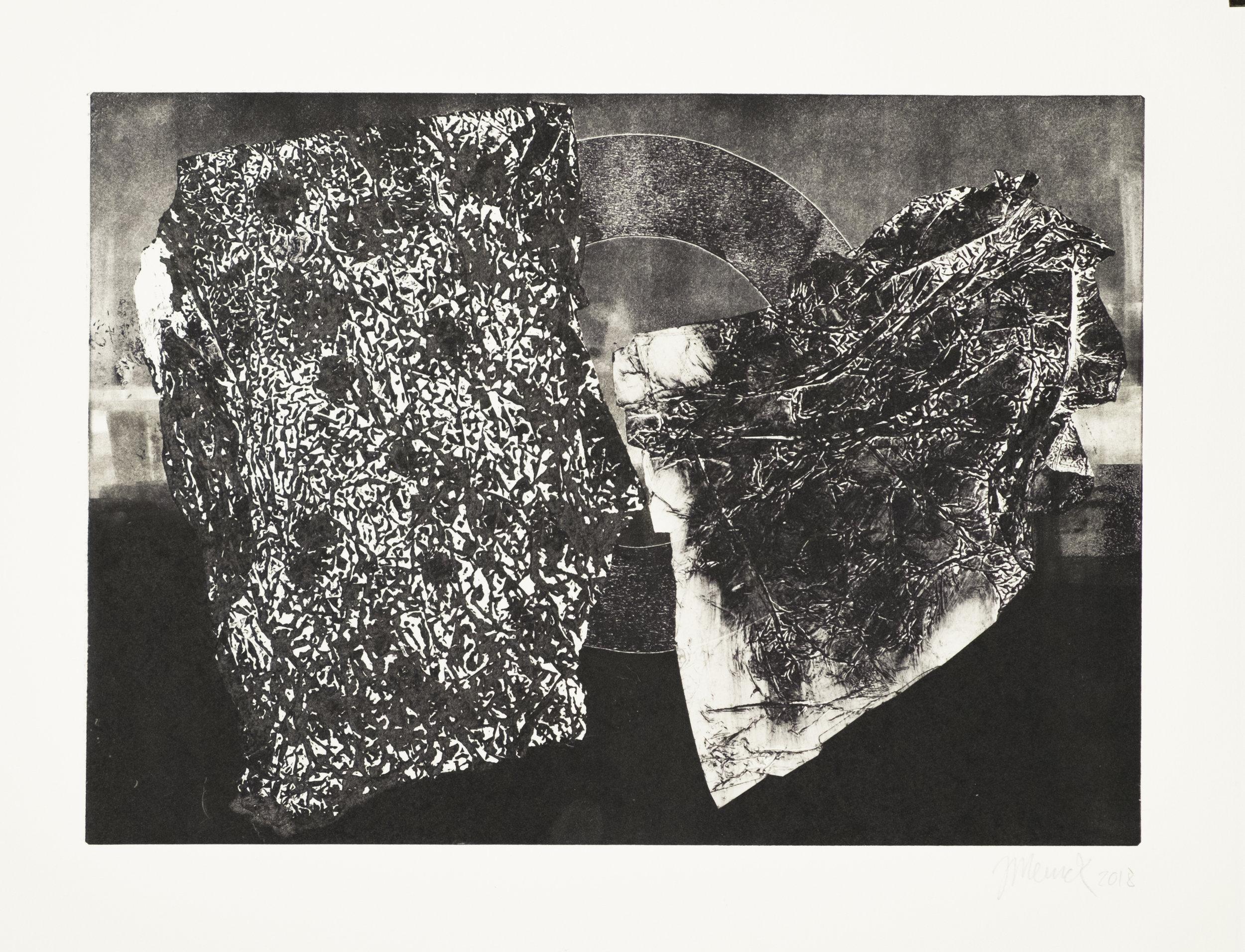 Forms on black 24 (34 cm x 24 cm)