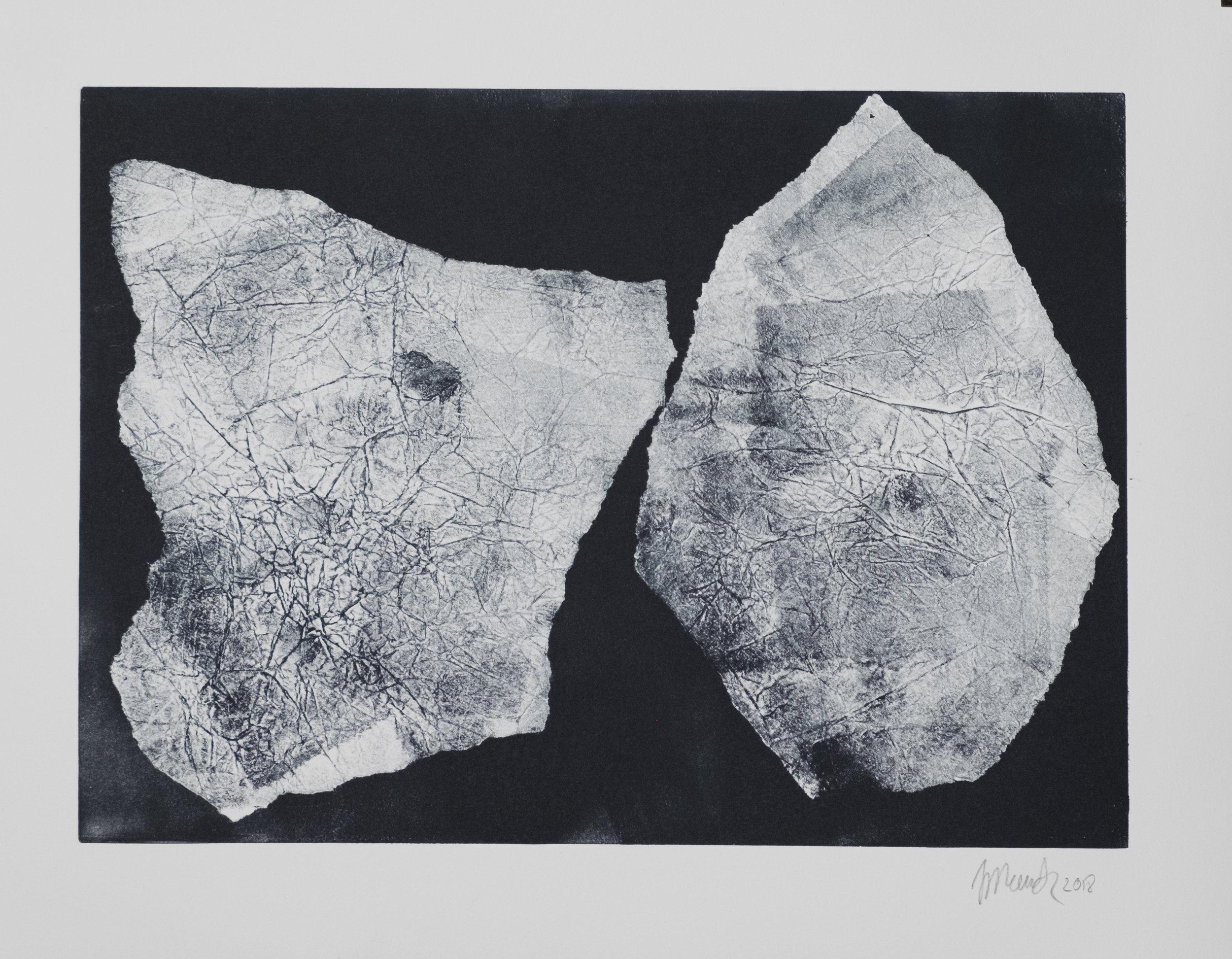 Forms on black 8 (34 cm x 24 cm)
