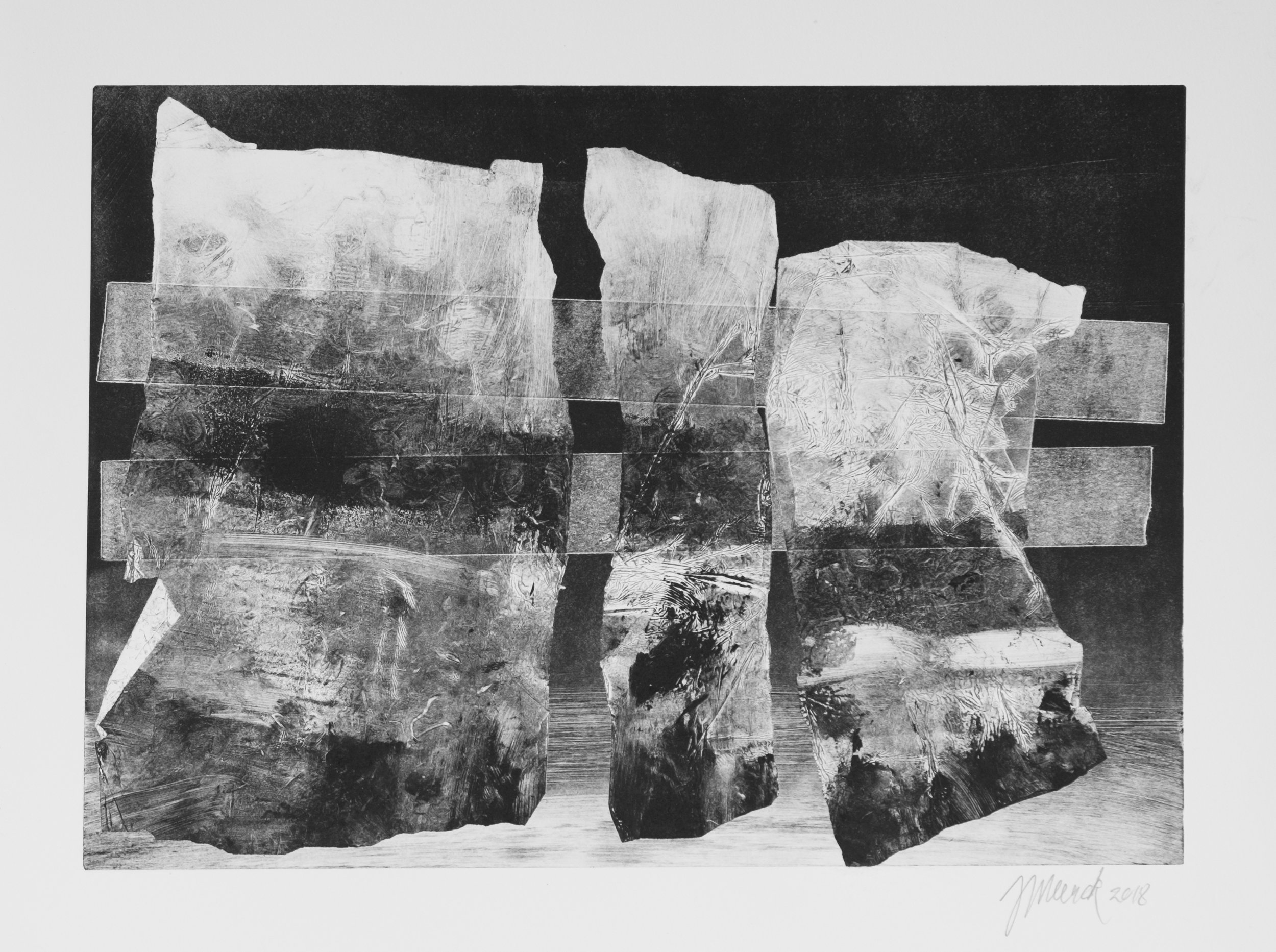 Forms on black 1 (34 cm x 24 cm)