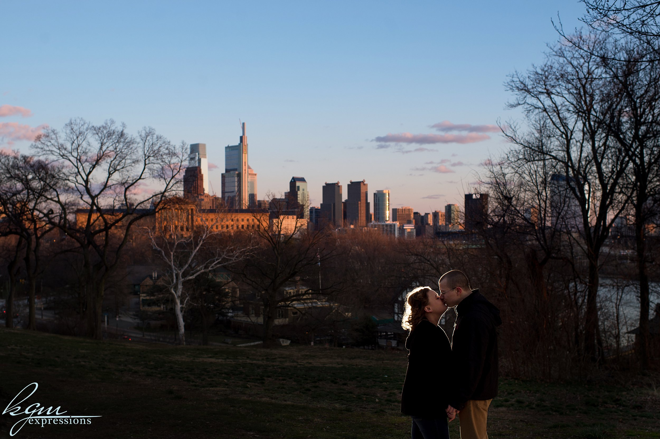 Lemon Hill Philadelphia Engagement
