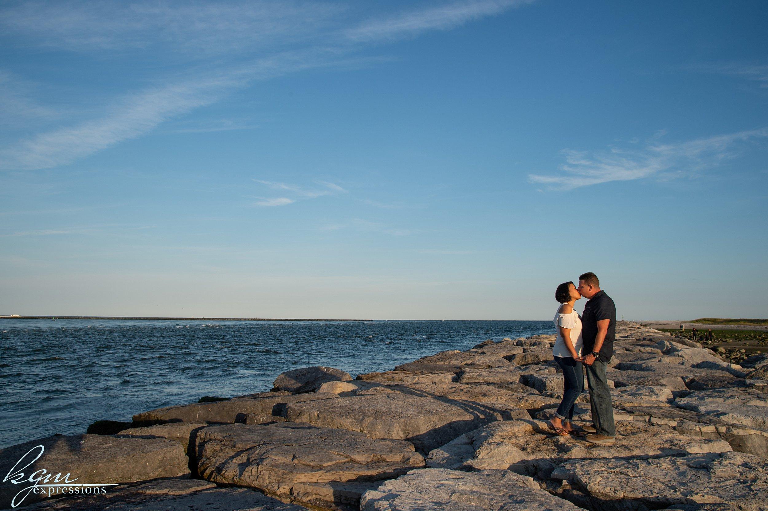 Barnegat Lighthouse Engagement