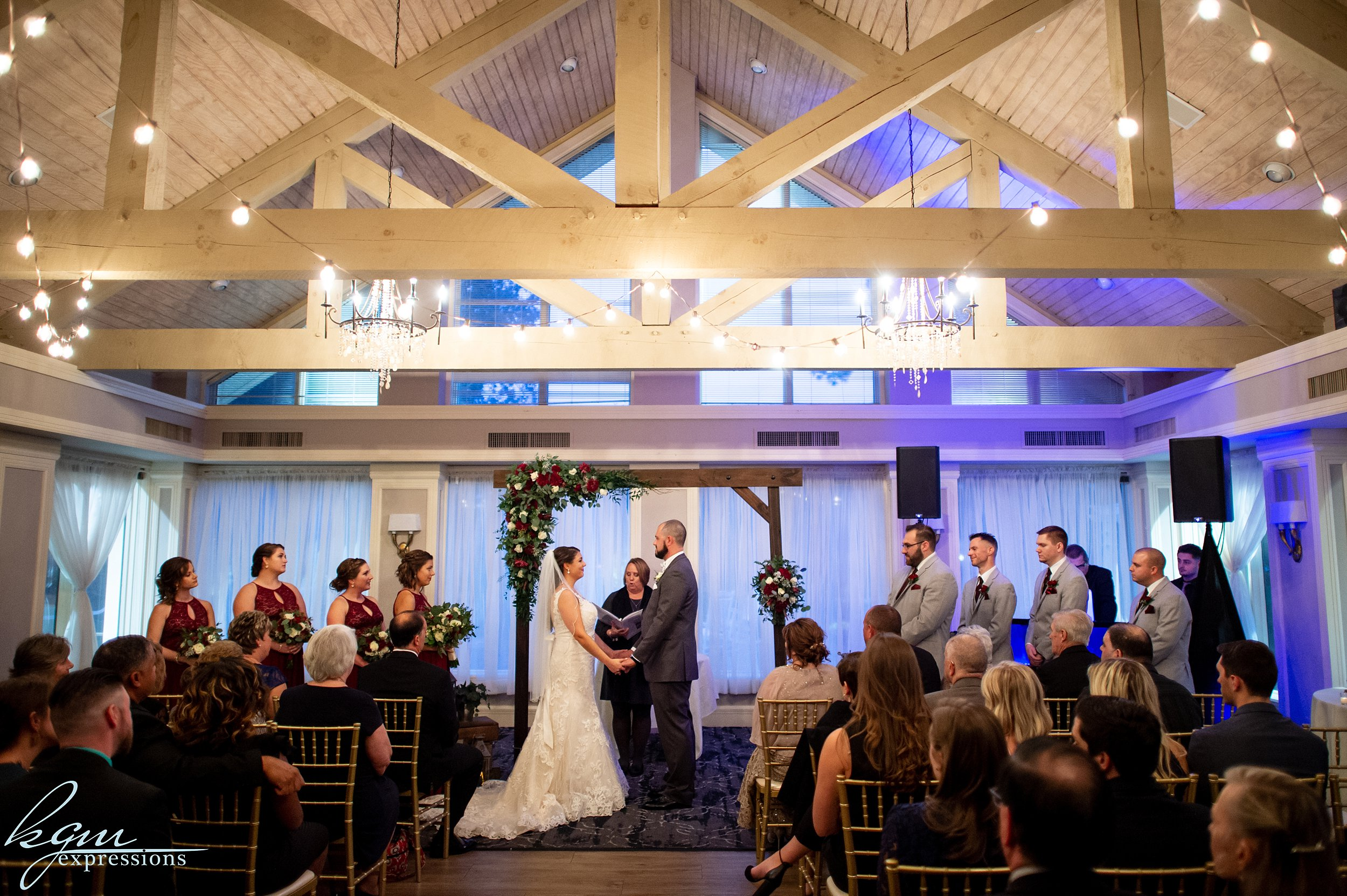 Blue Heron Pines Wedding