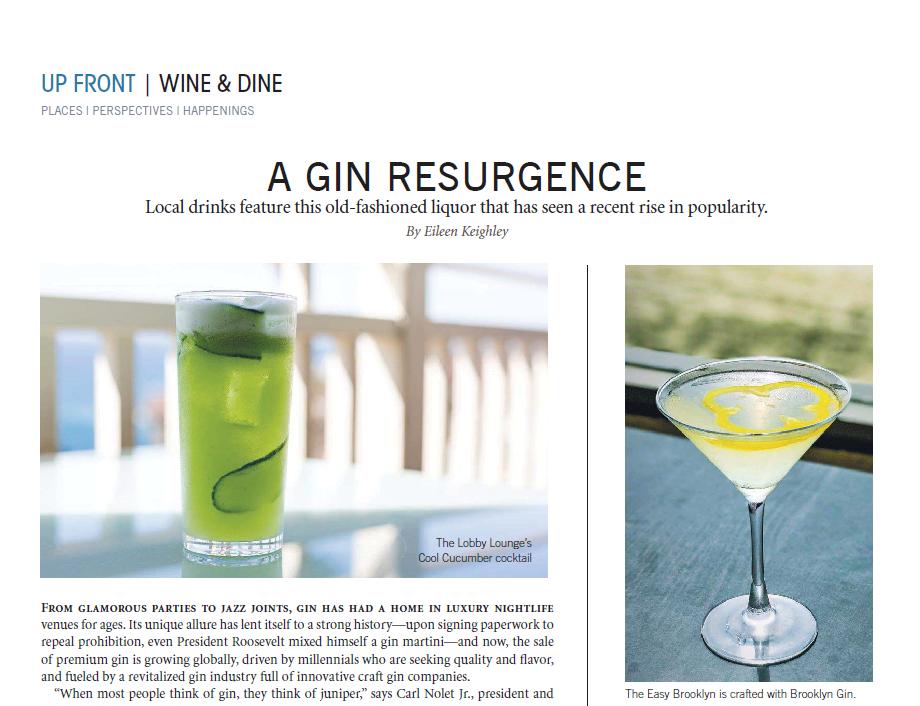 Gin Resurgence