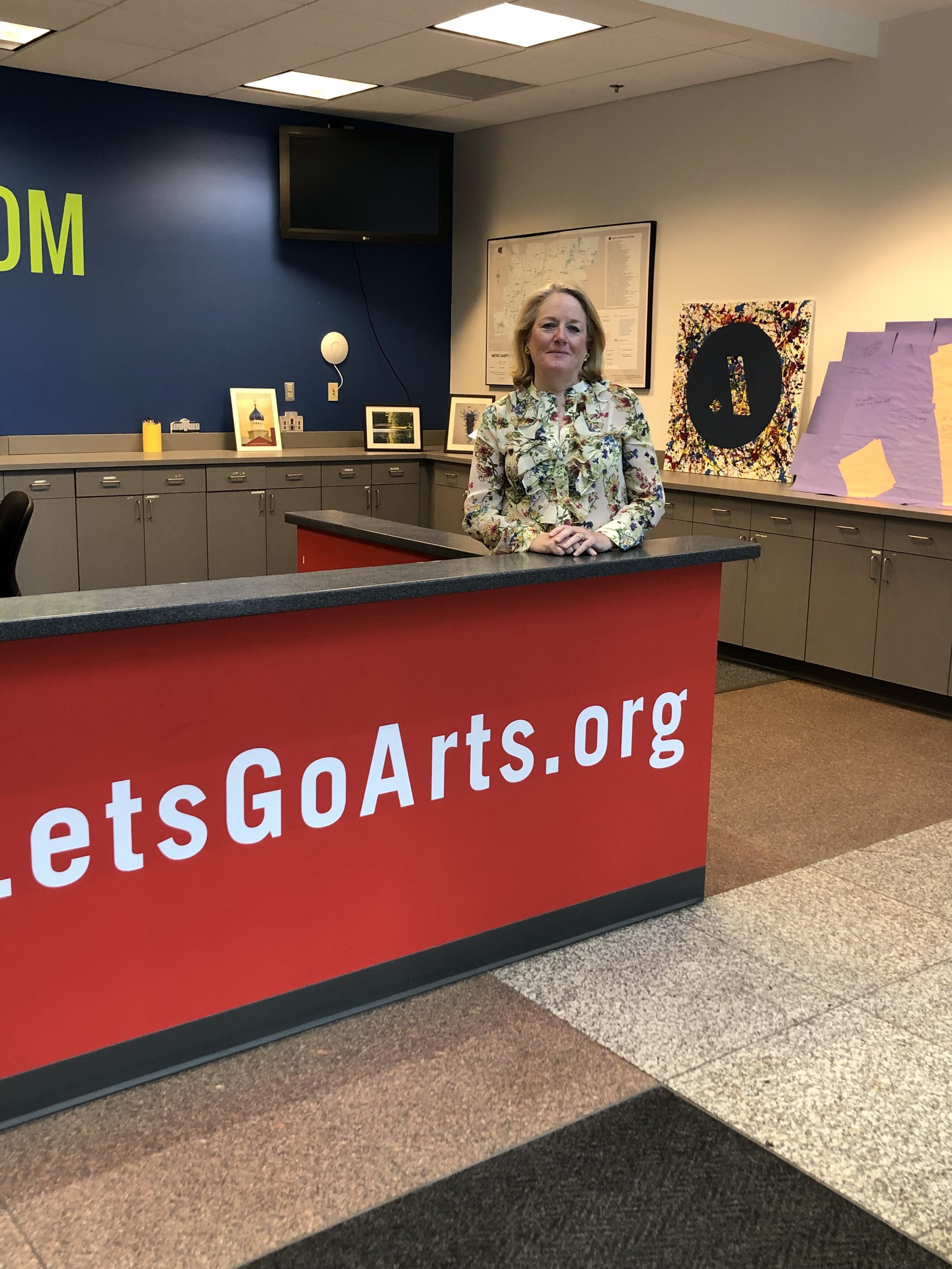 Cathy Malloy, CEO of the Greater Hartford Arts Council