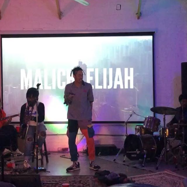 This past week, Cade7 Malachi was at @thepocketla performing some new music from HTS (prod. @elliottghall). @thepocketla is such an amazing space for artists, people (of color), friends, and spectators. The family vibe is constant and thriving. The band keeps the groove on point, bringing their own talents, musical iq, and love to these songs.  It's always a pleasure and we're excited to be back @thepocketla next Tuesday to see the next featured artists, and bask in the atmosphere of love and art.