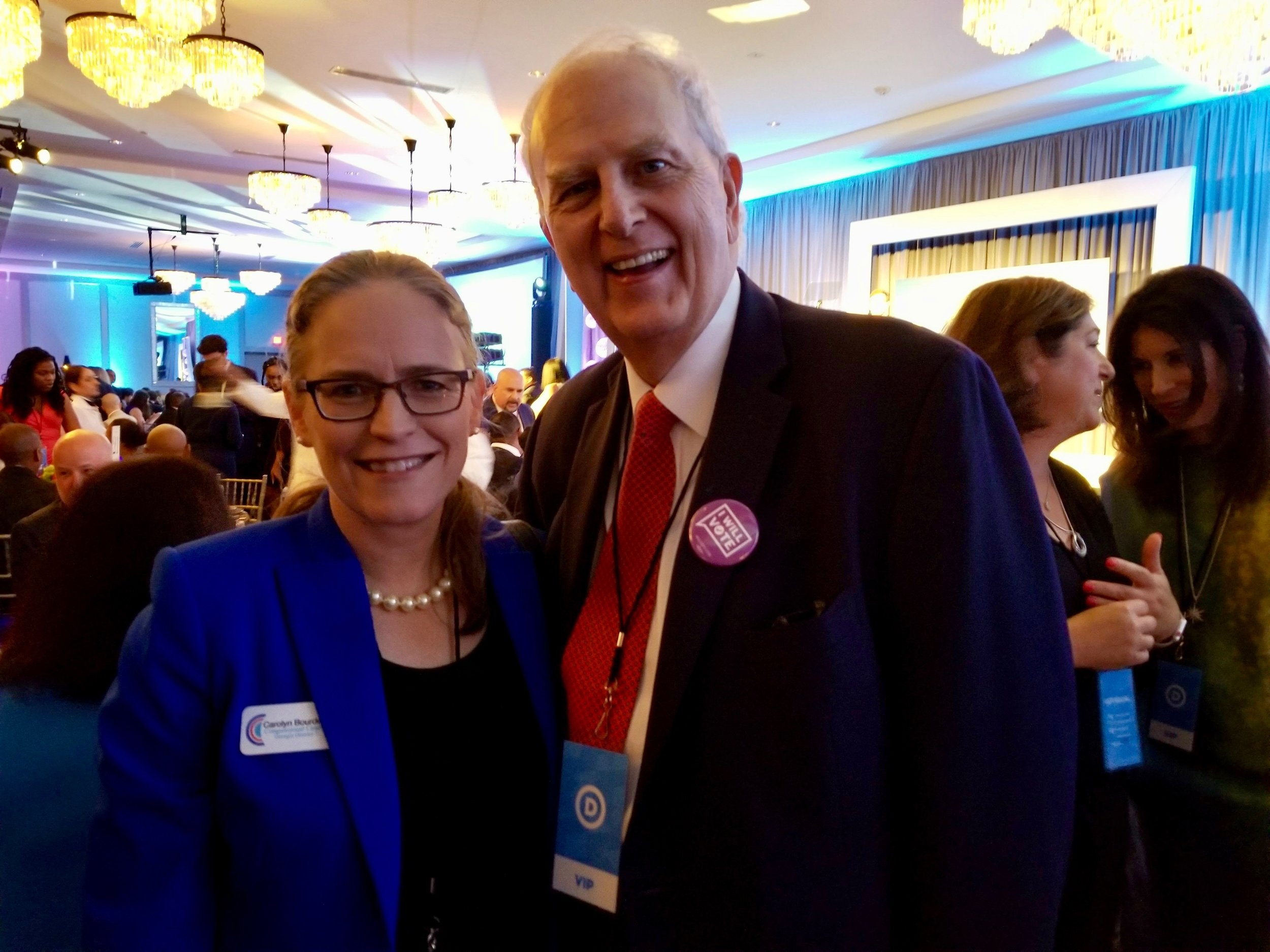 """- """"Carolyn Bourdeaux has the courage, background and skills necessary to get things done in Congress for all Georgia families. She knows it's time we put our partisanship aside and come together to work for the people. I'm proud to endorse her, and I ask all residents of the 7th district to support Carolyn as well.""""Roy Barnes80th Governor of Georgia"""