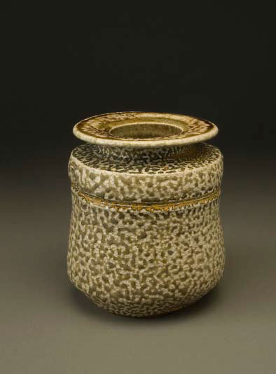 "Karen Karnes (US, 1925-2016) Small Vase , glazed stoneware, 6 3/8 x 6 1/8"" dia.1975"