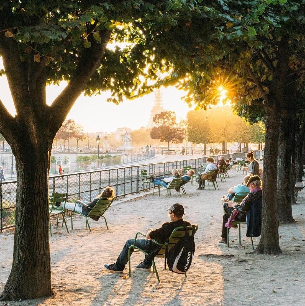 Paris, jardin des Tuileries. Crédit photo : @gl0be_trotter