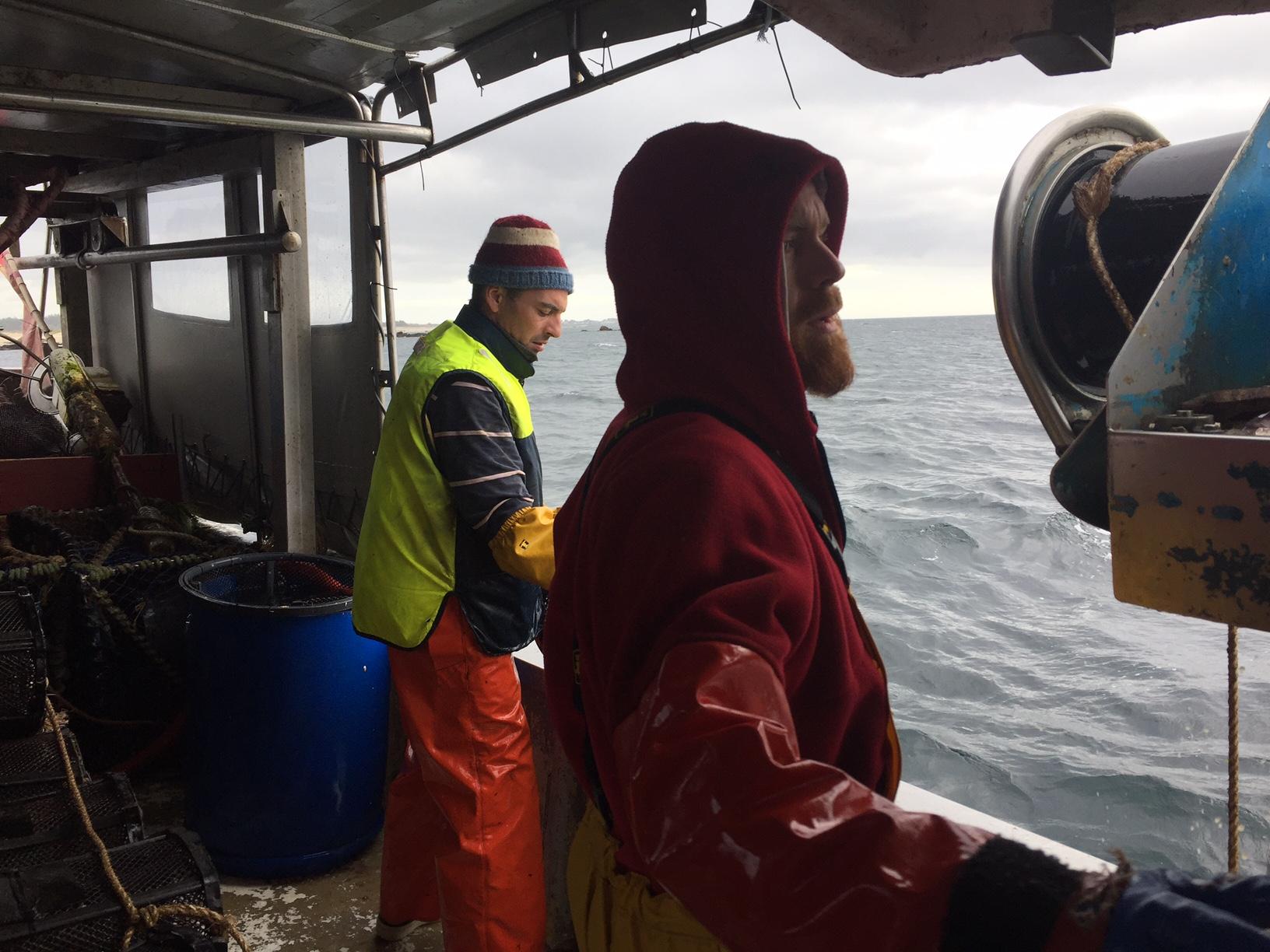 Hugo, marin pêcheur, 26 ans.