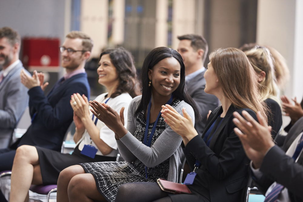 Speaking - By speaking at your next event I will engage and energize the attendees and deliver career and business growth strategies that align with what you want to provide to your audience.