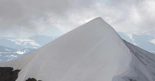 """Hanna Ljungh still from film """"I am mountain, to measure impermanence"""", 2015"""