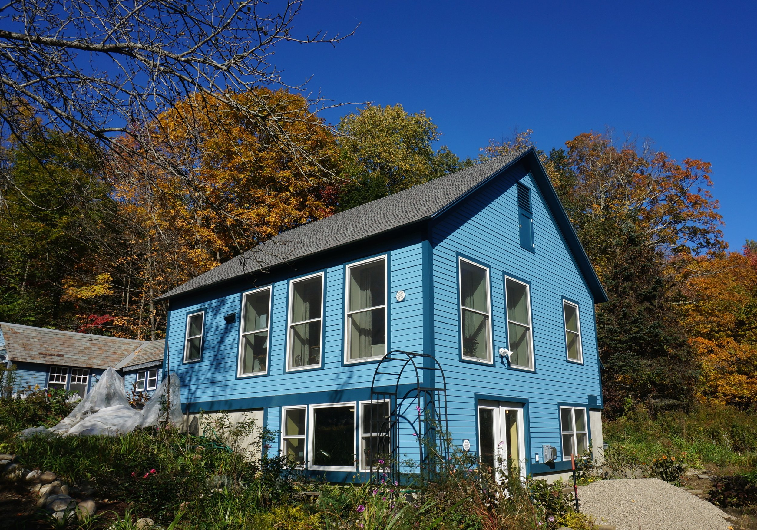 Super-Insulated small retirement home