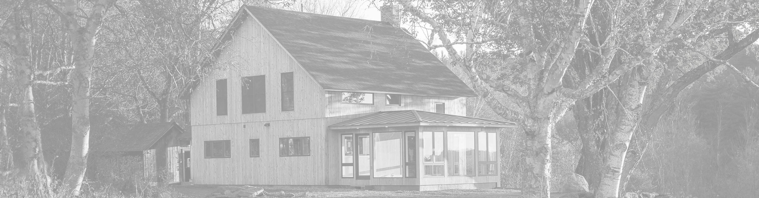 Sikes Road Modern Barn — Vermont Architect