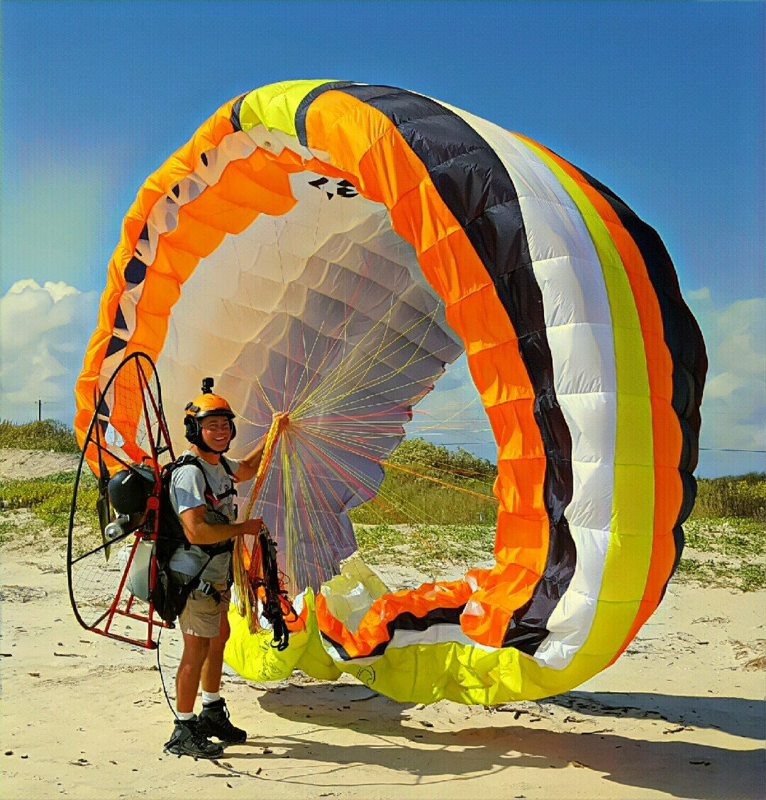 Don Brock - Welcome to the Texas Wind Riders, my name is Donald Brock and I am your local DFW Instructor for Powered Paragliding (PPG)since 2004. I have always been interested in flying and the thought of jumping out of a perfectly good aircraft has always appealed to me, so I did what came natural, I joined the US Army!I couldn't become a Pilot because of my eyesight so I figured Infantry Airborne is the right direction for me, I loved being a Paratrooper, I served in 3 Parachute Infantry Regiments. As a Staff Sergeant I was tasked with many dangerous missions and to accomplish them I had to first lead by example and become a good teacher, I taught many things from small arms weaponry, explosives, hand to hand combat and how to jump out of all sorts of aircraft, I loved my job.After getting hurt in combat I left the Army, I felt a bit lost and out of place, I needed to feel like SSG Brock again so as luck would have it, I spotted something in the air one day in Fort Worth, it was familiar but it wasn't, I saw a canopy and thought it was a skydiver, but I was wrong, it was a PPG Instructor by the name of Didier Debaque from Adventure France, I literally chased him down and asked him what that was? and how could I do it? it has been love ever since.My training started in April of 2004, I joined ASC (Aero Sports Connection) and received my Instructor Rating later that same year after 50 hours of flying and training students under the supervision of my Instructor. In 2006 I became a certified Instructor by Francesco (Check) De Santis through the USPPA, In 2017 I found myself being rated as an Administrator, Check was once more my Rater.I take great pride in my country and my military service, I bring that Army Airborne attitude and spirit to my training LZ where I strive to give you the best and safest training possible, every student trains at a different pace, and everyone has a different learning curve, so with that said, you are NOT forced into the air nor do you h