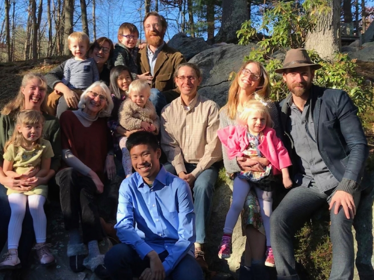 The entire Mast family gathered in Bedford, NY for Thanksgiving and to celebrate our mother's 70th birthday.