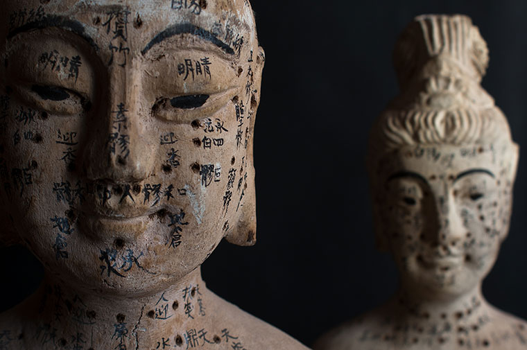 Ancient Chinese Acupuncture Dolls