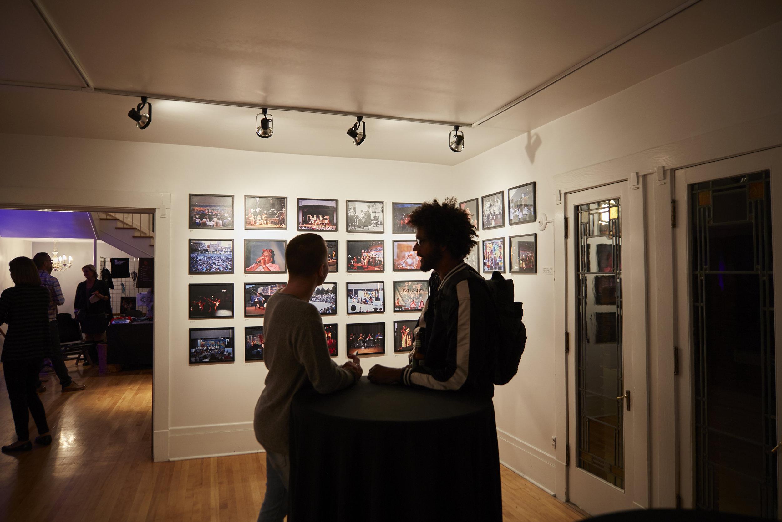 drawing room as gallery