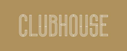 clubhouse white logo on gold block.jpg