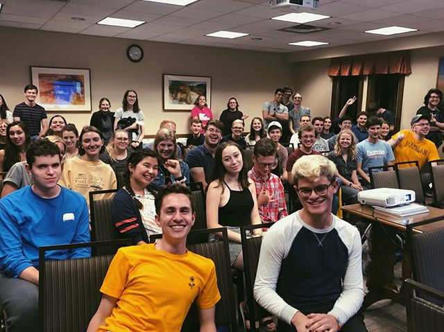 Thanks to everyone who came to the Debate Watch Party!!