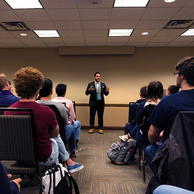 Thanks to Dr. Abdul El-Sayed for a wonderful presentation on healthcare at our KickAss Thursday!!