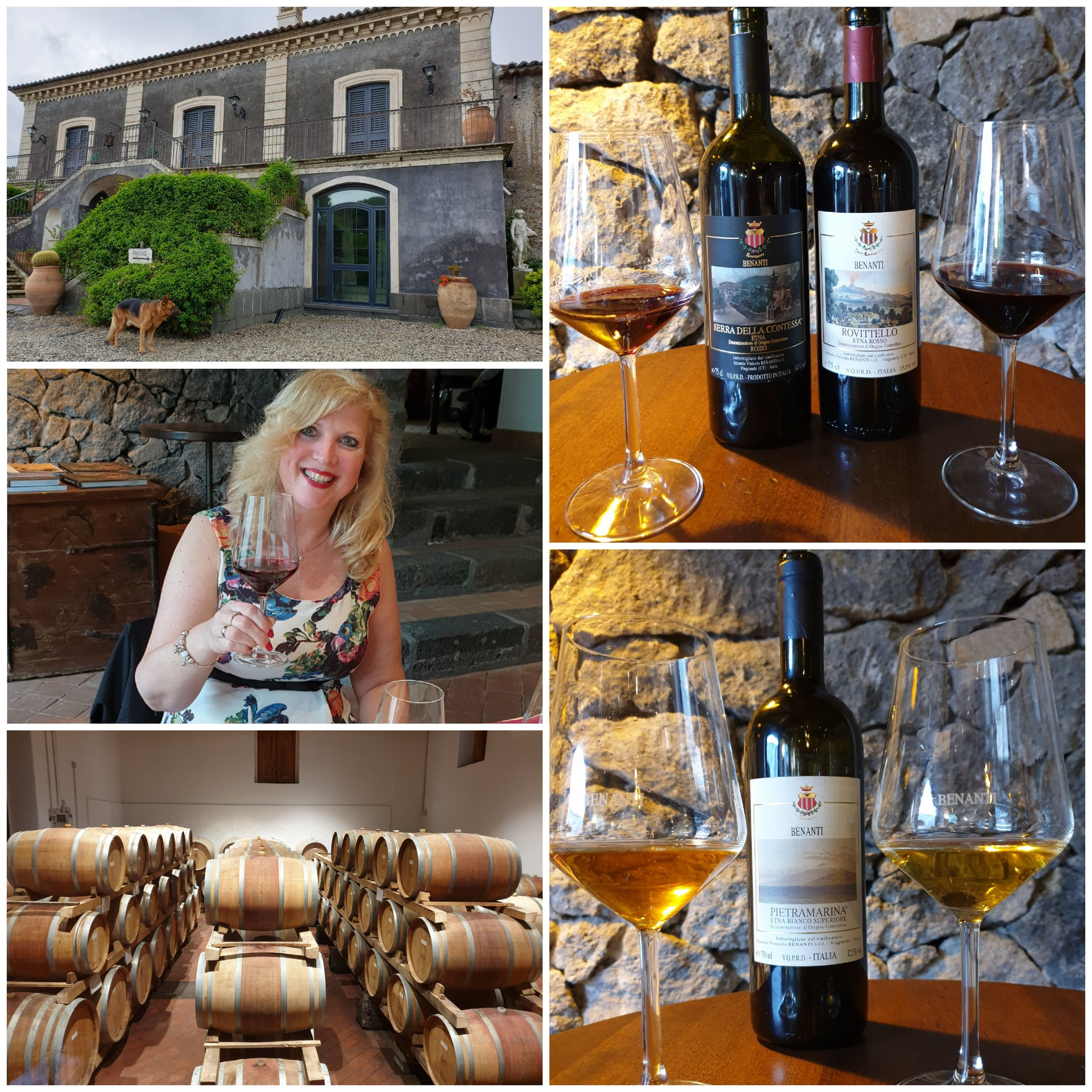 Etna, wijnhuis Benanti -